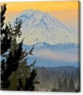 Mt. Rainier #1 Canvas Print