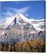Mt. Robson- Canada's Tallest Peak Canvas Print