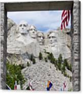 Mt Rushmore Entrance Canvas Print