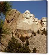 Mt Rushmore II Canvas Print
