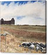 Mt Savior Barn Canvas Print
