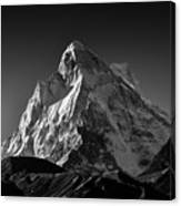 Mt Shivling Above Tapovan Canvas Print