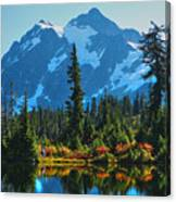 Mt. Shuksan Canvas Print