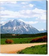 Mt. Sopris II - A Colorado Landscape Canvas Print