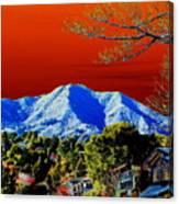 Mt Tamalpais From Another World Canvas Print