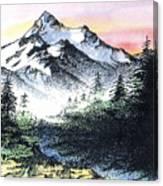Mt Thielson Oregon Canvas Print