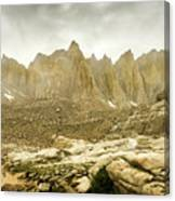 Mt Whitney Sierra Basecamp Canvas Print