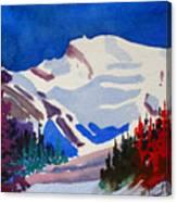 Mt. Wilson Canvas Print