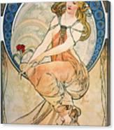 Mucha: Poster, 1898 Canvas Print