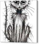 Mucky Cat Canvas Print