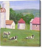 Mud Lake Dairy Farm Canvas Print