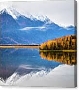 Mudd Lake Reflections Canvas Print