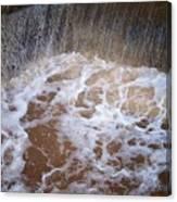 Muddy Waterfall Canvas Print