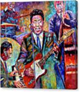 Muddy Waters And His Band Canvas Print