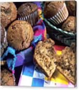 Muffins Canvas Print