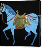 Mughal Horse Canvas Print
