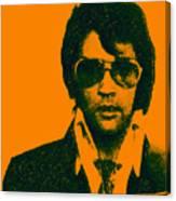 Mugshot Elvis Presley Canvas Print