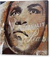 Muhammad Ali Mural Canvas Print