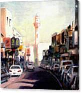 Muharraq Souq 1 Canvas Print