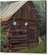 Mulberry Farms Grainery Canvas Print