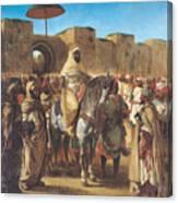 Muley Abd Ar Rhaman  Canvas Print
