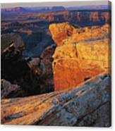 Muley Point Sunrise Canvas Print