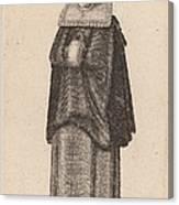 Mulier Generosa Viennensis Austri Canvas Print