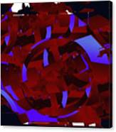 Multi Dimensional Martian Machine Canvas Print