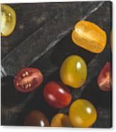 Multicolored Cherry Tomatoes Canvas Print