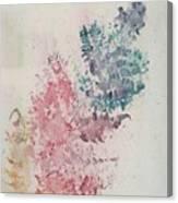 Multicolour Fern Canvas Print