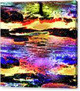 Multiple Underwater Sunsets Canvas Print