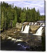 Multiple Waterfalls Canvas Print
