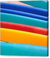 Multitude Of Surfboards Canvas Print