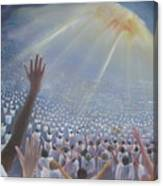 Multitude Of Worshippers Canvas Print