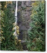 Multnomah Falls - 5 Canvas Print
