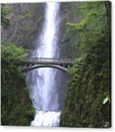 Multnomah Falls Wf1051a Canvas Print