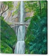Multonomah Falls Canvas Print