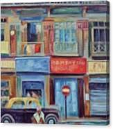 Mumbai Business District  Canvas Print