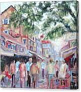 Mumbai Market Canvas Print