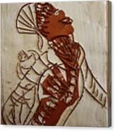 Mums Adrift - Tile Canvas Print