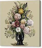 Mums Bouquet Canvas Print