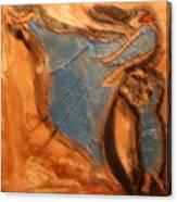 Mums Leap - Tile Canvas Print