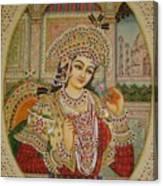 Mumtaj Canvas Print