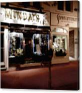 Mundays Canvas Print