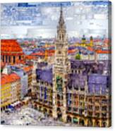 Munich Cityscape Canvas Print