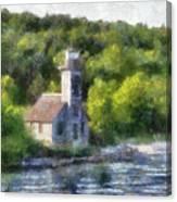 Munising Grand Island Lighthouse Upper Peninsula Michigan Pa 01 Canvas Print