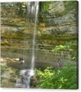 Munising Waterfall Canvas Print