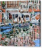 Murano Canal Canvas Print