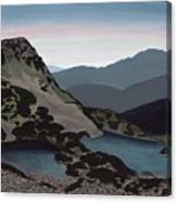 Muratova Chuka, Pirin Mountain Canvas Print