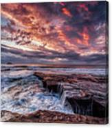 Muriwai Sunset Canvas Print